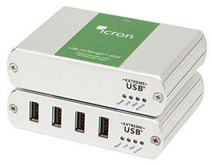 Ranger 2324 多模光纤延伸USB2.0 4端口 最远可达500米