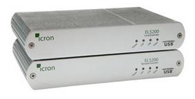 EL5100 KVM延长器 高清DVI+USB2.0延长可达100米