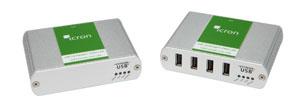 USB 2.0 Ranger 2304GE-LAN 4端口USB2.0以太网延伸器